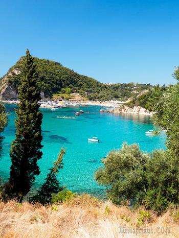 Остров Корфу- драгоценный изумруд... ч.2. Палеокастрица и Сидари