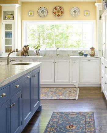 Как оформить кухню в загородном доме