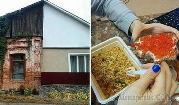 17 колоритных фотографий, доказывающих, что Россия - страна контрастов