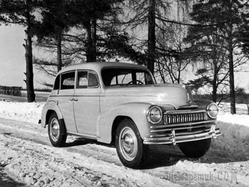 Весьма неудачное творение: немецкий рестайлинг Москвича-400 и ошибка историка Шугурова