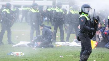 «Люди хотят веселиться»: Нидерланды охватили протесты и беспорядки