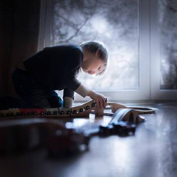 Добро пожаловать в зимнюю сказку: волшебные работы польского фотографа