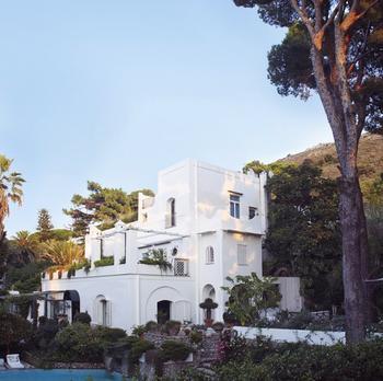 Мечтательный дизайн виллы на острове Капри