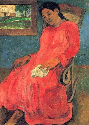 «Красный – это любовь, это кровь, это дьявол в ярости»: Женщины в красном на полотнах живописцев разных эпох