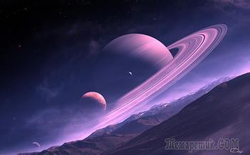 """Планета Сатурн: интересные факты об """"окольцованном"""" гиганте"""