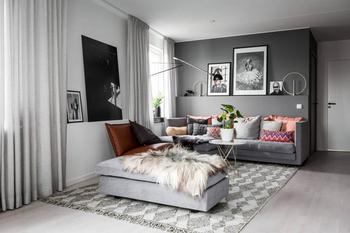 Простая и уютная квартира в Стокгольме