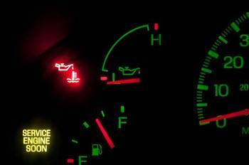 Давление масла в двигателе, методы проверки