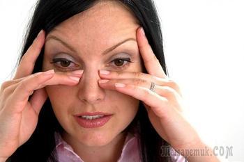 8 упражнений от морщин под глазами