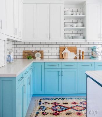 Стильные и практичные шкафы, которые сделают кухню оригинальной и практичной