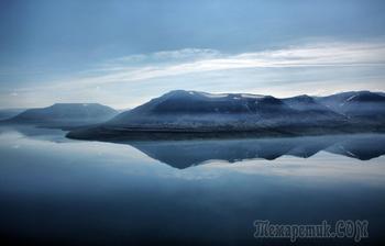 Плато Путорана, озеро Лама.