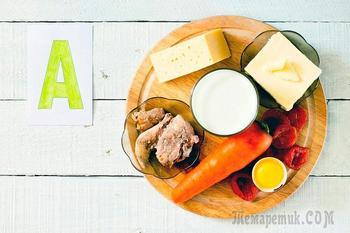 Витамин А для здоровья: продукты питания
