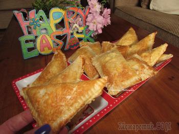 Хрустящие конвертики из тостерного хлеба- очень быстрая и вкусная закуска !