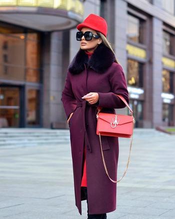 Как носить одно пальто, но быть разной каждый день