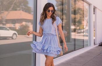 Модные короткие платья – лето 2020