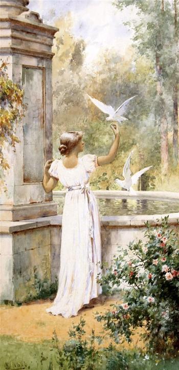 Белое платье часть 4.