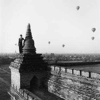 Медитативная красота Бирмы. Фотограф Моника Деневан