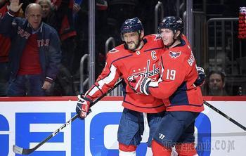 Рекорды Овечкина и дебют Шестеркина: российская ночь в НХЛ