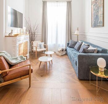 Яркая модернистская квартира в Барселоне