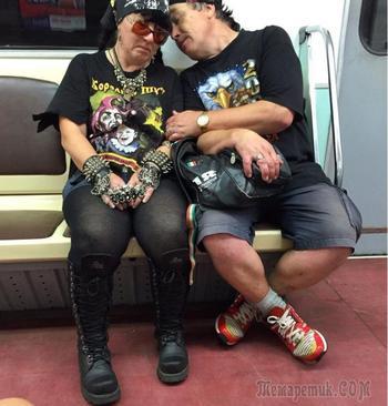 Люди подземелья или эксцентричные пассажиры российского метро