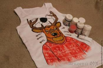 Как сделать рисунок на футболке красками по текстилю