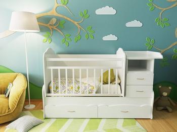 Кроватка своими руками — чертежи и секреты построения корпусной детской кроватки