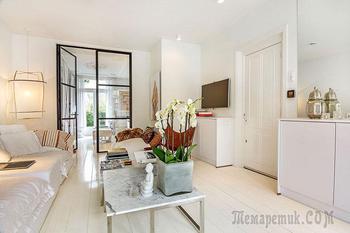 Квартира с интересным дизайном в Амстердаме (61 кв.м)