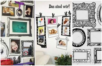 20 впечатляющих идей, как красиво разместить любимые фотографии на стене