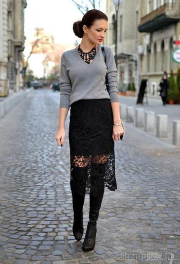 Такие разные черные юбки — с чем носить и как сочетать?