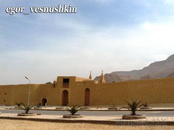 Монастыри и храмы... Коптский свяого Антония монастырь