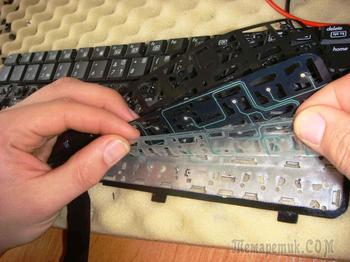 Перестала работать часть клавиатуры, решаем проблему