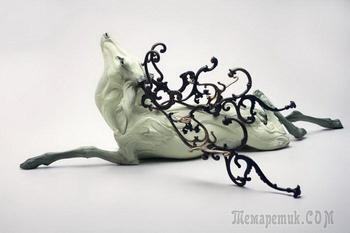 Застывшие в мгновении скульптуры Бети Кавенер