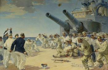 Как броненосец «Потемкин» стал кораблем революции, и Откуда на корабле взялся красный флаг