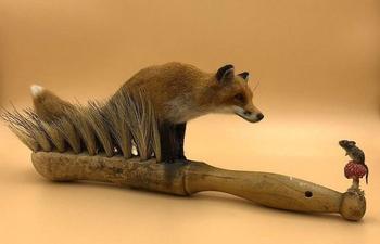 Очаровательные животные из войлока