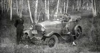 Личный транспорт советских людей