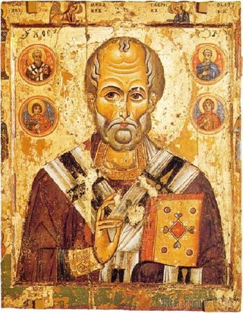 Изображения святителя Николая - от древнерусских до почти современных в Государственном Эрмитаже