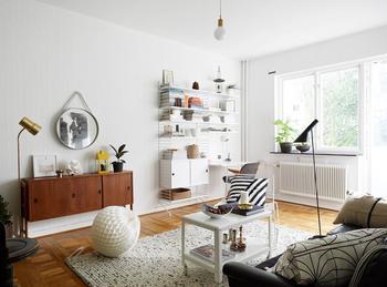 Уютная, светлая и местами яркая квартира 47.8 кв.м. в Гетеборге