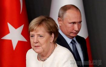 Сотрудничать с ООН: Путин и Меркель обсудили Сирию