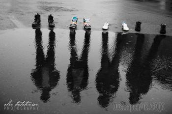 Иллюзии в фотографиях - 45 кадров, на которые придётся посмотреть дважды