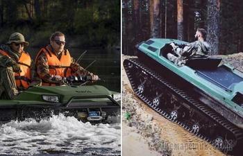 6 крутых вездеходов, которым не страшны ни реки, ни болота