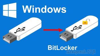 Как установить пароль на флешку в BitLocker