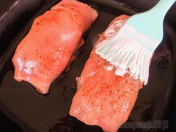 Рулетики с начинкой из куриного филе / Самый простой и вкусный рецепт в духовке / Другая Кухня
