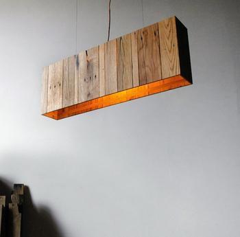 Крутые светильники из поддонов