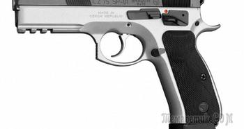 CZ 75 SP-01 Shadow — пластиковый, легковесный страйкбольный пистолет
