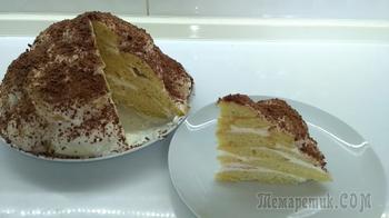 """Домашний торт """"Черепаха"""" простой и вкусный рецепт"""