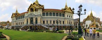 Таиланд 2019. 12. Бангкок королевский. Храмы - Храм изумрудного Будды. Королевский дворец