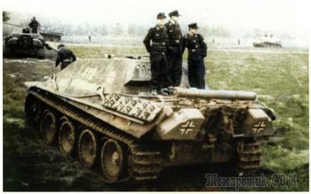 Боевое Применение Истребителя Танков Panzerjäger V Jagdpanther
