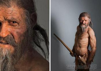 10 малоизвестных фактов о ледяной мумии Эци, возраст которой 5300 лет