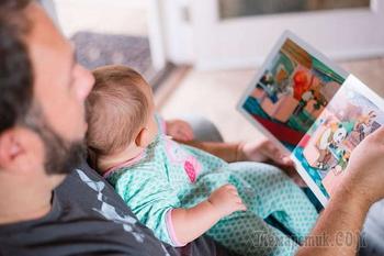 «Наш папа в отпуске – по уходу за ребенком»