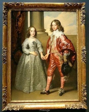 Две судьбы на портрете Антониса ван Дейка