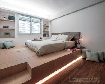 Подиум в квартире: дизайн, варианты использования, отделка
